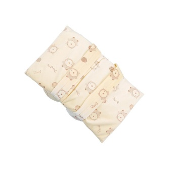 LALANG Infant Toddler Baby Soft Head Support Cushion Pillow (Beige)- intl - 4