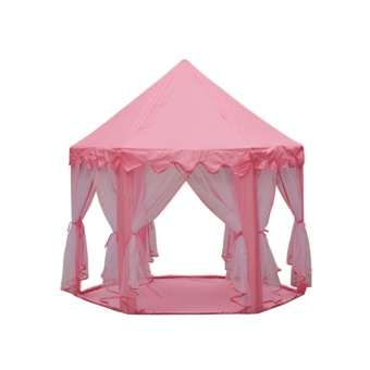 Large Indoor and Outdoor Kids Play House Pink Hexagon Princess Castle Kids Play Tent Child Play  sc 1 st  Lazada Philippines & Large Indoor and Outdoor Kids Play House Pink Hexagon Princess ...