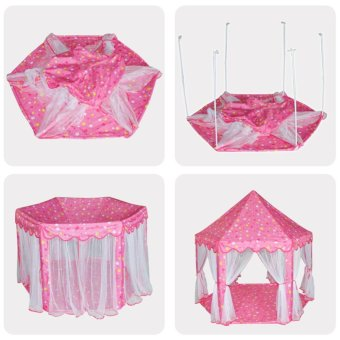 ... Large Princess Castle Tent Baby Portable Indoor Outdoor PlayHouse(Pink) - intl - 4 ...  sc 1 th 225 & Where To Buy Large Princess Castle Tent Baby Portable Indoor ...