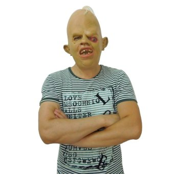 Latex Halloween Costume Mask Zombie SCARY FANCY DRESS Unisex Costume Accessory
