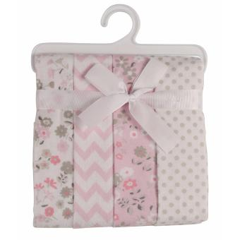 Laura Ashley Baby Receiving Blankets - Pack of 4 - Annabel Print Price Philippines
