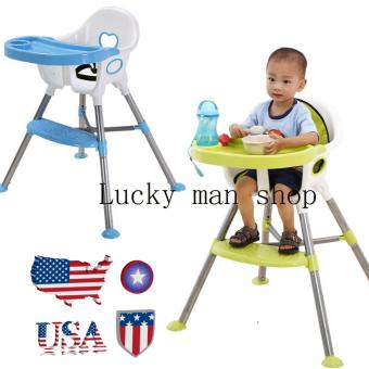 lazada and USA best selling Baby High Chair BLUE
