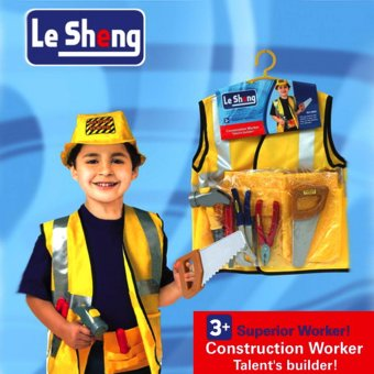 Le Sheng Dress Up Construction Worker Costume