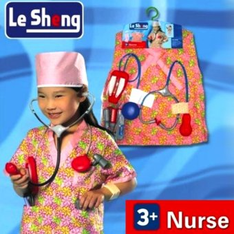Le Sheng Dress Up Nurse Costume