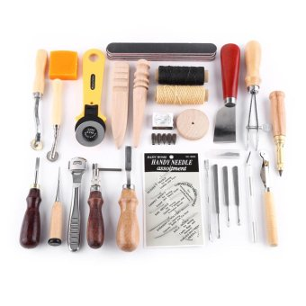 Leather Craft Stitching Working Hand Sewing Punch Tools - intl