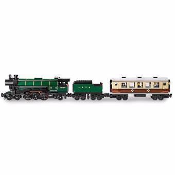 LEPIN 21005 TRAIN Emerald Night Train (1085 pcs) Building BlocksSet - 4