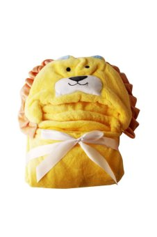 Lion Hooded Blanket (Yellow) Price Philippines