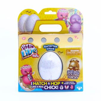 Little Live Pets Surprise Chick I Hatch & Hop Like A Real Chick(Pink)