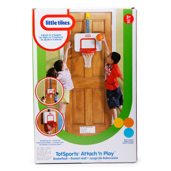 Little Tikes Attach 'N Play Basketball (Red/White)