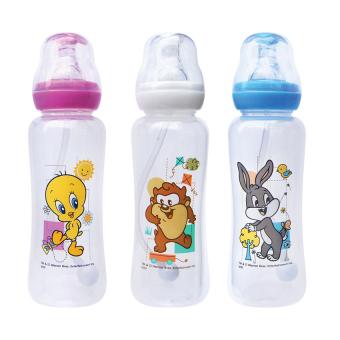 Looney Tunes Anti-colic Feeding Bottle 8oz Set of 3 (Multicolor)