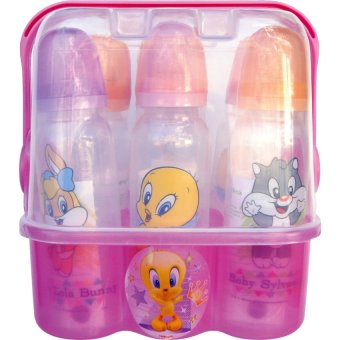 Looney Tunes On The Go Caddy Gift Set of 6 (Multicolor)