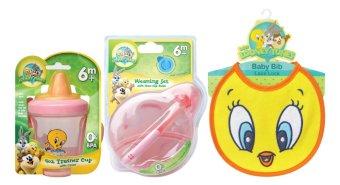 Looney Tunes Savers Pack Feeding Gift Set 15 (For Girls)