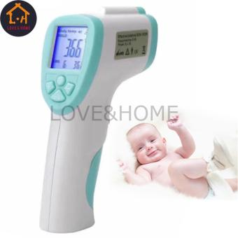 LOVE&HOME Non Contact Infrared Body Thermometer (White/Blue)
