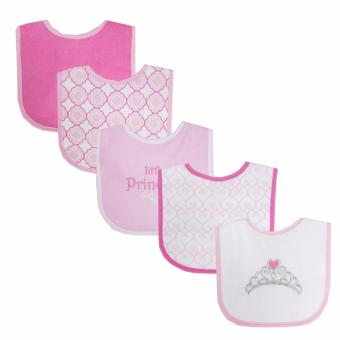 Luvable Friends 5 Piece Drooler Bib Little Princess