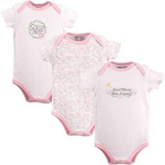 Luvable Friends Bodysuits 3-Piece Bee Happy Price Philippines