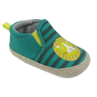 Luvena Fortuna Soft Sole Pre-Walker Baby Shoes (Green/Yellow) Price Philippines
