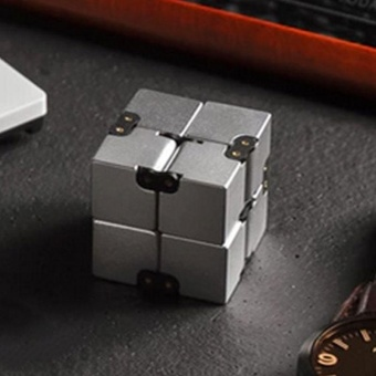 Luxury EDC Infinity Cube Mini For Stress Relief Fidget Anti Anxiety Stress Funny - intl