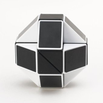 Magic Snake Rubik's Cube Magic Cube Educational Toys ( White + Black ) Price Philippines