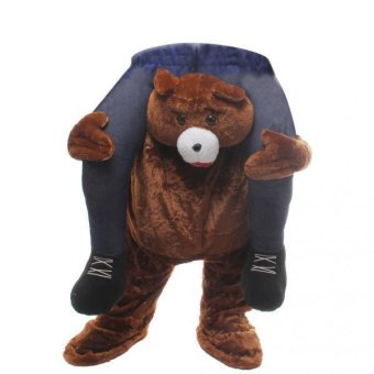MagiDeal 2x Kids Novelty Bear Back Halloween Mascot Fancy Costume Carry Me Stag Outfit - intl Price Philippines