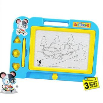 Magnetic Drawing Board Sketch Pad Doodle Writing Painting Toy For Kids Children - intl