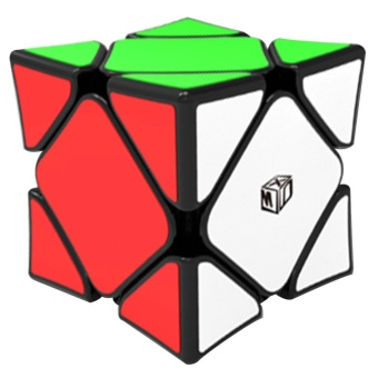 Magnetic Skewb Speed Magic Cube Wingy Concave Stickerless CuboPuzzle Educational Toys For Children Kids Gift Style:black - intl