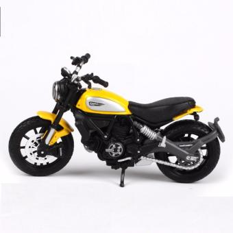 Maisto 1:18 Ducati Scrambler yellow Die-casts model bike Collection- intl