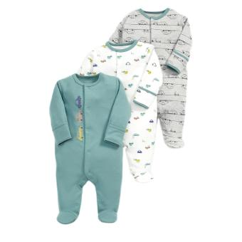 Mamas and Papas Car Bodysuit Set of 3