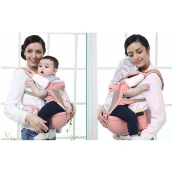 Mambobaby 2017 Baby Carrier with Hip Seat with Uniquel prints (Pink)