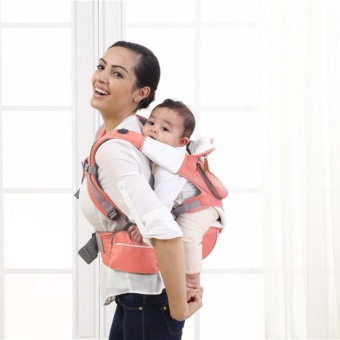 Mambobaby Multifunctional 4-in-1 Baby Carrier with Hip Seat (Pink)