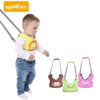 Mambobaby toddler baby harness leash backpack learning walking assistant belt stick wings anti lost child walker feeding chair - intl