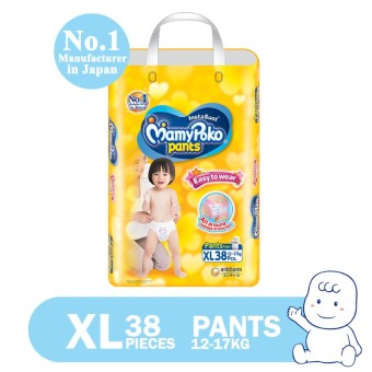 MamyPoko Pants Easy to Wear Diaper XL 38's