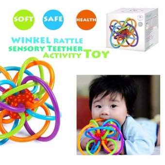 Manhattan Toy Winkel Rattle and Sensory Teether