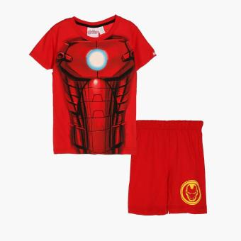 Marvel Avengers Boys Tee and Shorts Set (Red)