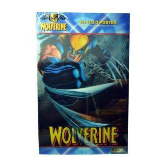 Marvel: Wolverine 3D Poster