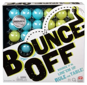 Mattel Bounce-Off Party Game New Family Fun Competition Head BallsParty Kids Toys - intl