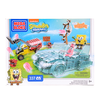 Mega Bloks SpongeBob Invisible Boatmobile Rescue Price Philippines