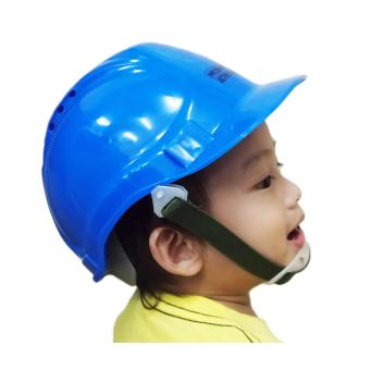 Meisons active kids party hat PE hard hat safety helmet with airflow blue