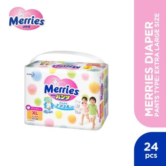 Merries Diaper Jumbo Pants Type Extra Large (24 pcs)