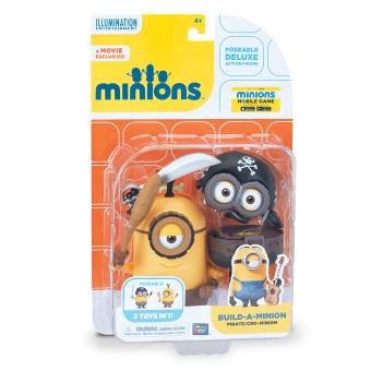 Minions Deluxe Figure Build-a-Minion Pirate/Cro-Minion