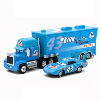 MITPS 2pcs Lightning McQueen Uncle Jimmy The King 1:55 DiecastMetal Alloy Modle Toys Car Gift For Kids - intl Price Philippines