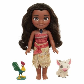 Moana Singing Adventure Doll with Friends Toy Doll