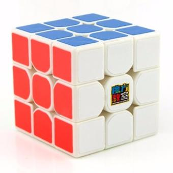 MoFang JiaoShi MF3RS 3x3x3 Rubik's Cube Brain Teasers Speed MagicCube Puzzles MF8810 White Body