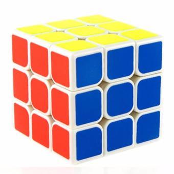 MoFang JiaoShi MF3RS 3x3x3 Rubik's Cube Brain Teasers Speed MagicCube Puzzles MF8810 White Body - 2