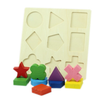 Montessori Early Wooden Educational Learning Toy (Intl)