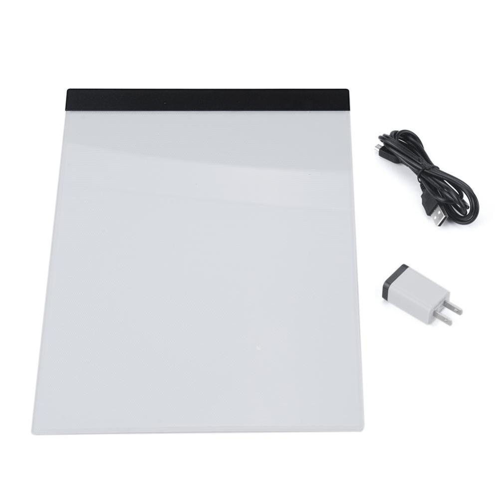 Moonar Artist Thin A4 LED Art Stencil Board Light Box Tracing Drawing Table Tattoo Pad Graphics