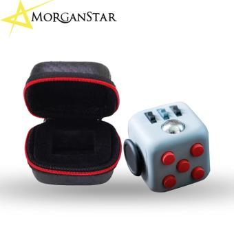 MorganStar #1 Fidget Cube with Protective Case