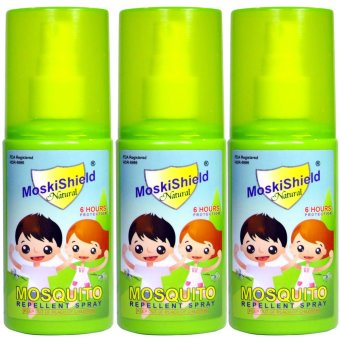Moskishield Mosquito Repellant Spray 60ml set of 3