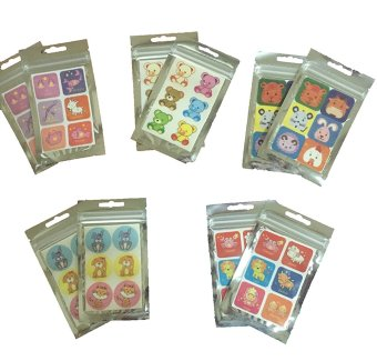 Mosquito Repellant Patch Set of 10 (New Design)