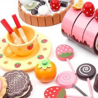 Mother Garden Chocolate Party Set (Multicolor) - 3