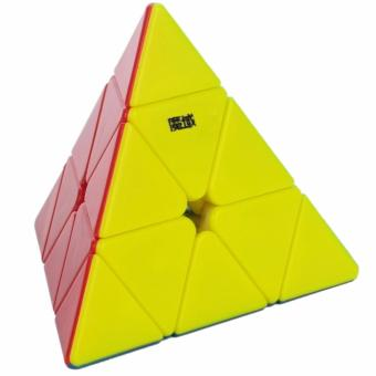 MoYu Pyraminx Triangle Pyramid Rubik's Speed Magnetic PositioningStickerless Magic Cube YJ8244
